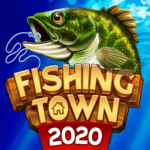 Fishing Town 3D Fish Angler Building Game 2020 1.0.5 MOD Unlimited Money