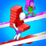 Bridge Run: Stairs Build Competition  (MOD, Unlimited Money) 1.0.28